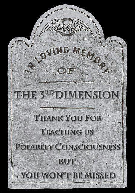 in memory of the 3rd dimension