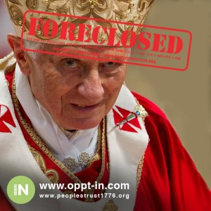 pope foreclosed